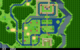 'ShowTmap showing 'Secret of Mana'